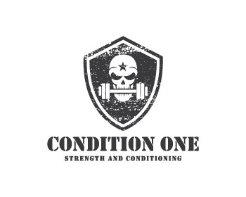 Condition One Strength and Conditioning logo design