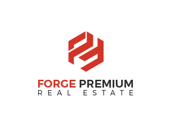 Forge Premium Real Estate logo design
