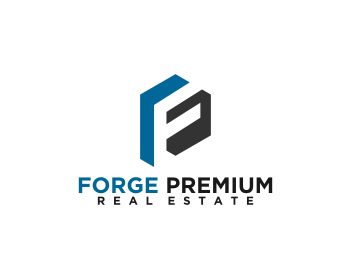 Logo design for Forge Premium Real Estate