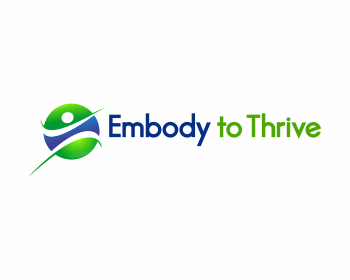 Embody to Thrive logo design