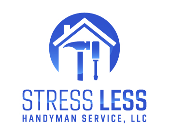 Stress Less Handyman Service, LLC logo design