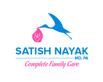 Satish Nayak, MD, PA logo design