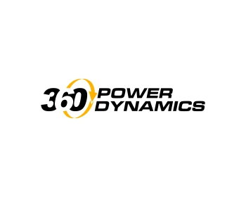 360 Power Dynamics logo design