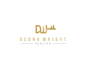 Deona Wright logo design