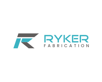 Ryker Fabrication logo design