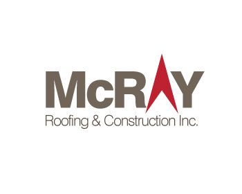 McRay Roofing & Construction Inc. logo design