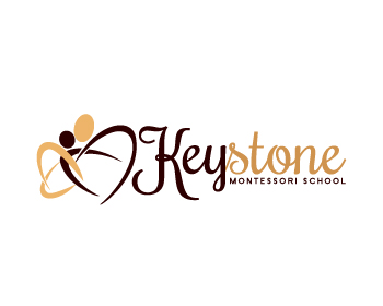 Logo design for Keystone Montessori School