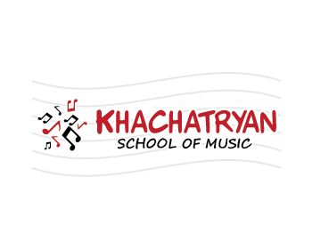 Khachatryan School Of Music logo design