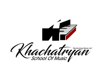 Education logo design for Khachatryan School Of Music