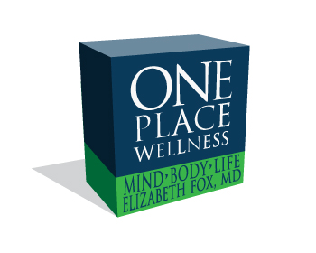Logo design for One Place Wellness ( then second line  ) Mind.  Body. . Life. ( third line )Elizabeth Fox, MD