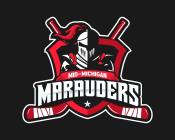 Logo design for Mid-Michigan Marauders