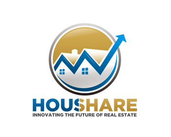 Logo design for Houshare LLC