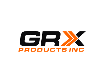 GRX Products Inc. logo design