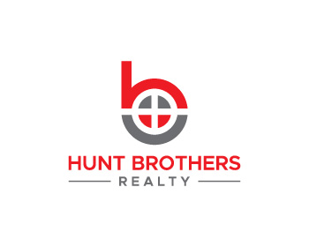 Hunt Brothers Realty logo design
