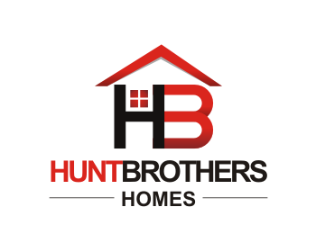Hunt Brothers Homes logo design