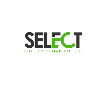 Select Utility Services, LLC logo design