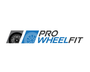 Pro Wheel Fit logo design