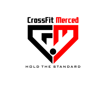 CrossFit Merced logo design