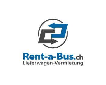 Rent-a-Bus.ch logo design