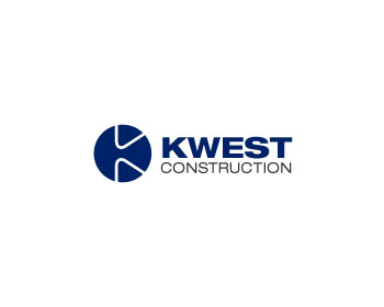 Kwest Construction logo design