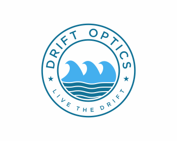 Drift Optics logo design