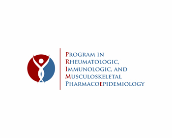 Program in Rheumatologic, Immunologic, and Musculoskeletal Pharmacoepidemiology [PRIME] logo design