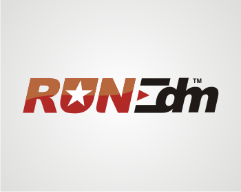 Logo design entry number 235 by vmax | Run-EDM logo contest