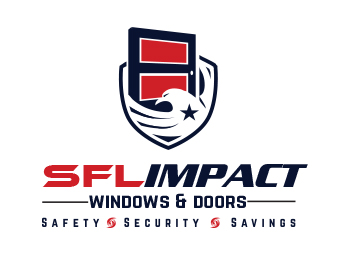 Home & Garden logo design for SFL Impact Windows & Doors