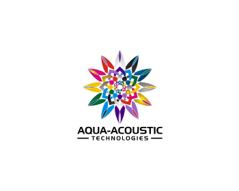 Aqua-Acoustic Technologies logo design