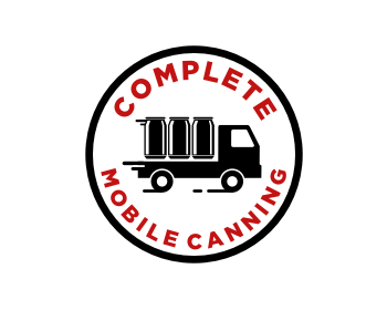 Complete Mobile Canning logo design