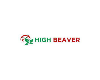 High Beaver logo design