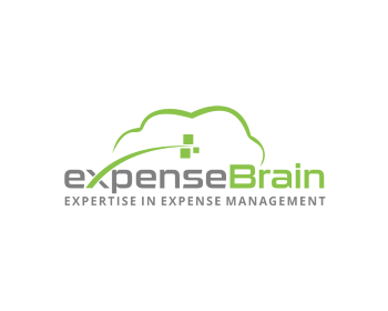 expenseBrain logo design
