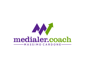 Logo design for Medialer Coach