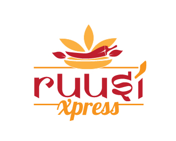 Ruusi Xpress logo design