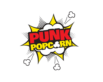 Logo design for Punk Popcorn