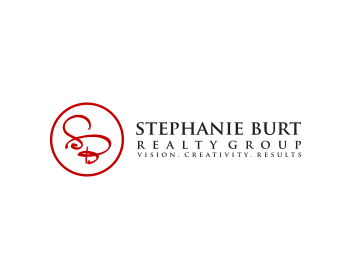 Real Estate logo design for Stephanie Burt Realty Group