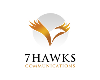 Logo design for 7 Hawks Communication