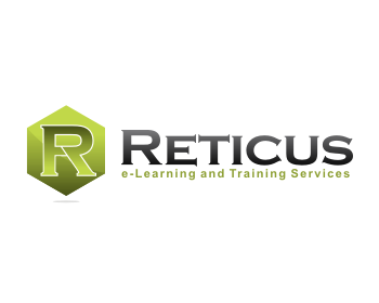 Reticus e-Learning and Training Services logo design