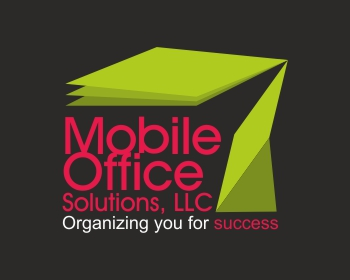 Mobile Office Solutions, LLC logo design