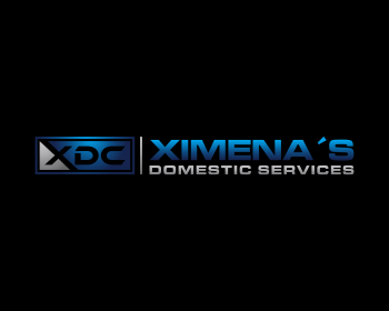 Ximena´s Domestic Services logo design