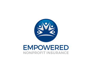Logo design for Empowered Nonprofit Insurance