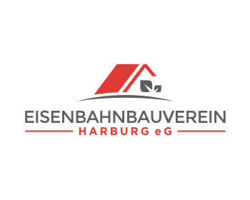 Real Estate logo design for Eisenbahnbauverein Harburg eG