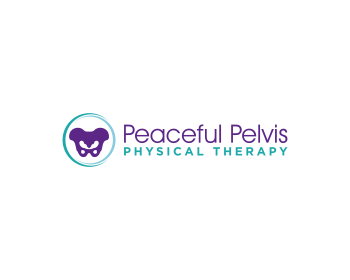 Peaceful Pelvis Physical Therapy logo design