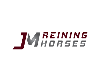 Logo design for JM Reining Horses