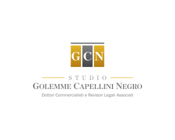 Logo design for Studio Golemme Capellini Negro - Dottori Commercialisti e Revisori Legali Associati
