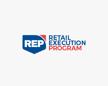 Rite Aid REP Retail Execution Program logo design
