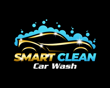 Smart Clean logo design