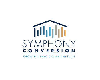 Logo design for Symphony Conversion