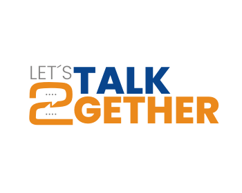 Let´s talk 2gether logo design