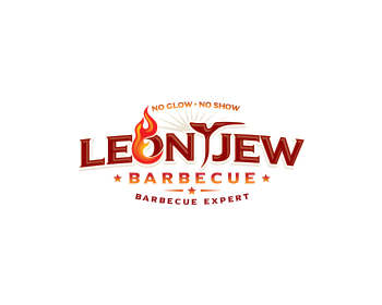 LEONTJEW BARBECUE logo design